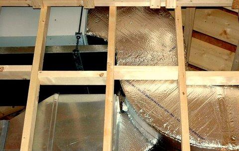 Harold R  Whelden Heating & Refrigeration - Attic Ductwork